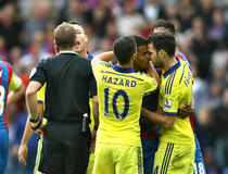 Crystal Palace-Chelsea : Tension