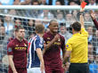 WBA-City : carton rouge
