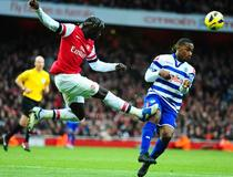 Arsenal-Queens Park Rangers: Sagna