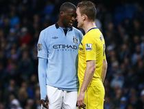 Manchester City - Reading: Touré