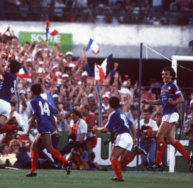 Portugal-France: Euro 1984