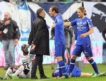 Bastia-Montpellier : Altercation