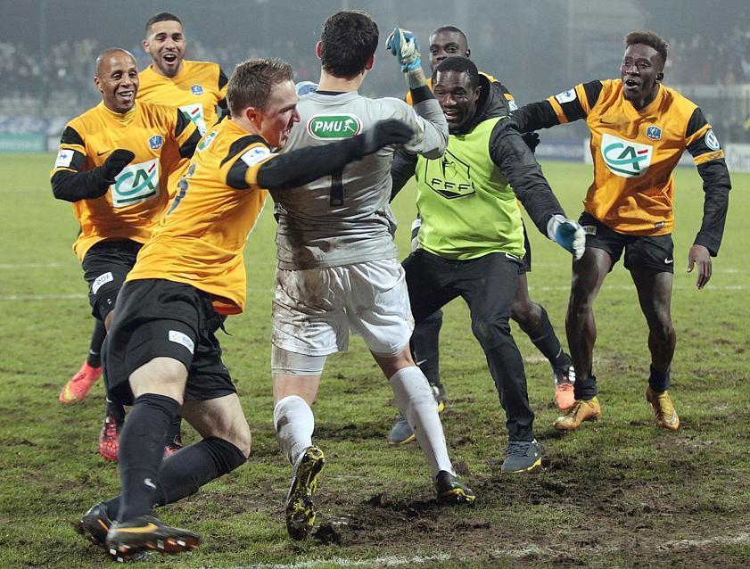Les images marquantes des 16es de finale de la coupe de - Finale de la coupe de france de football ...