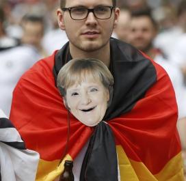 Même Angela Merkel est là