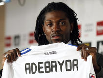 Real Madrid, Emmanuel Adebayor