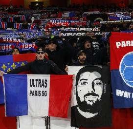 Les supporters parisiens en force