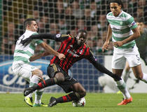 Celtic-Milan AC : Balotelli