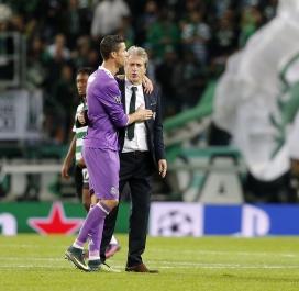 Cristiano Ronaldo muet