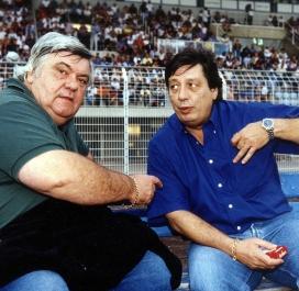 Louis Nicollin et Michel Mézy