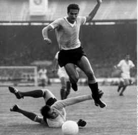 Coupe du monde 1966 : France-Uruguay 1-2