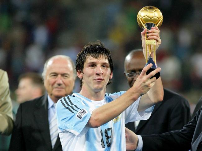 Messi centenaire avec l 39 argentine football - Coupe du monde moins de 19 ans ...