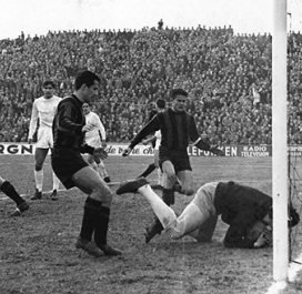 1956-1957 : Real Madrid-Nice 3-0 ; 1959-1960 : Real Madrid-Nice 4-0