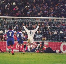 1992-1993 : Real Madrid-PSG 3-1