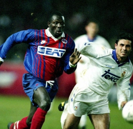 1993-1994 : Real Madrid-PSG 0-1