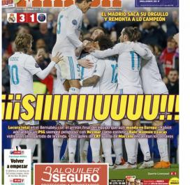 Marca et le cri de Ronaldo