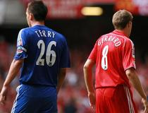 John Terry et Steven Gerrard en 2006, Community Shield