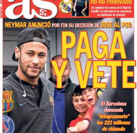 AS : «Paye et va-t-en»