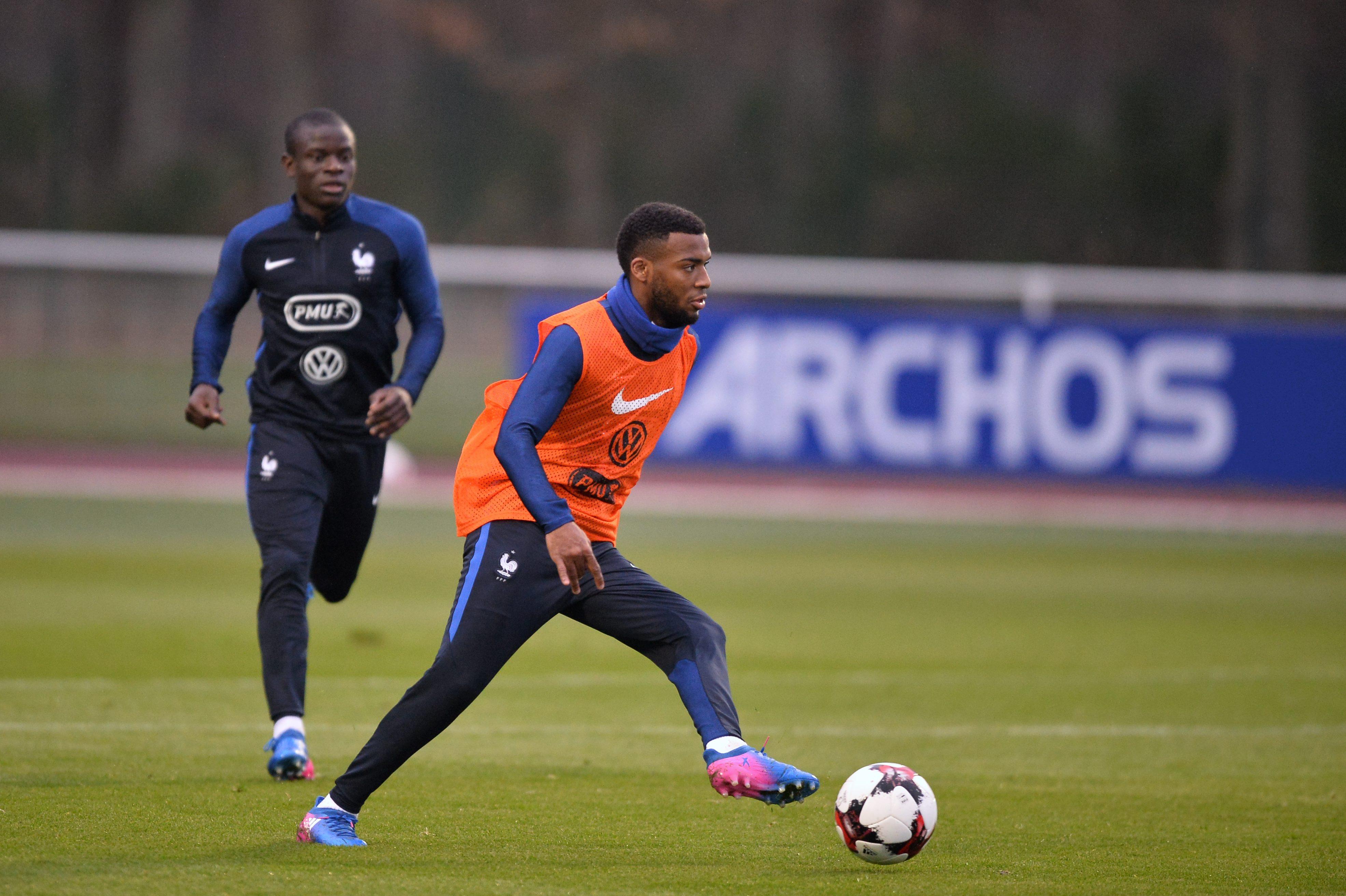 Football - Equipe de France - Le Real et le Barça gardent un oeil sur Lemar