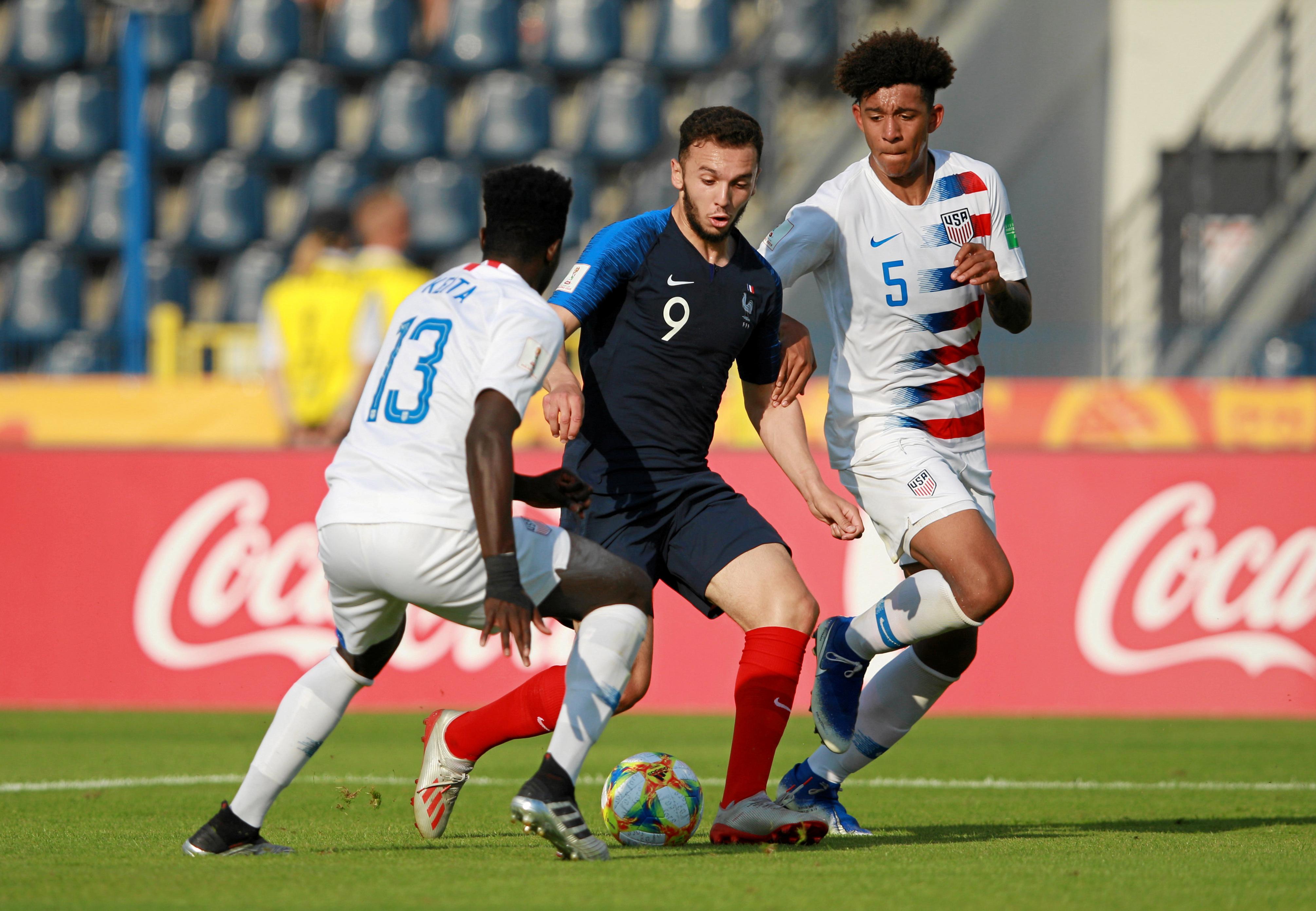 Football - Equipe de France - Déception pour les Bleuets, éliminés en 8es par les Etats-Unis