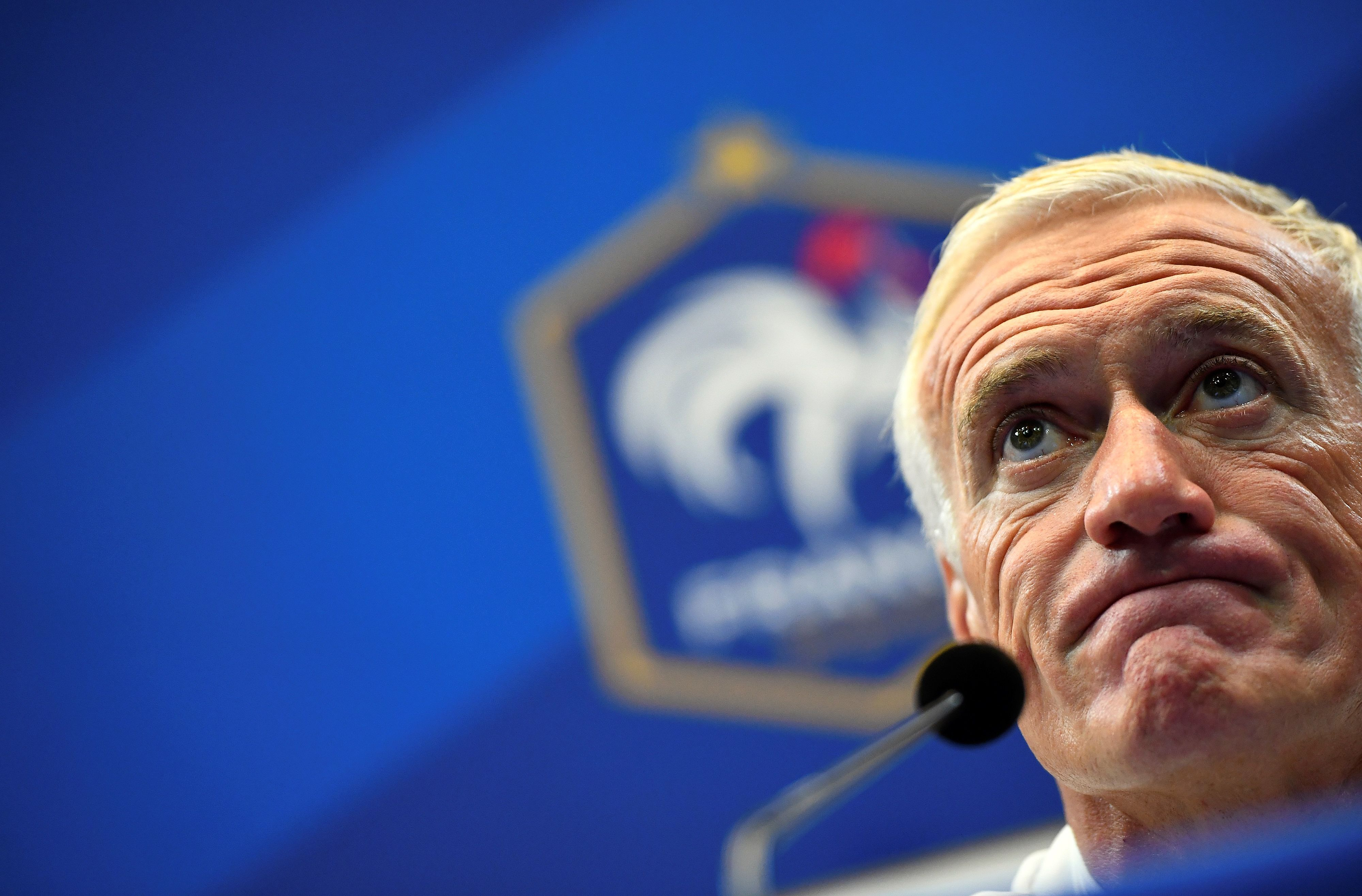 Football - Equipe de France - Deschamps «n'attend rien de Karim (Benzema)»