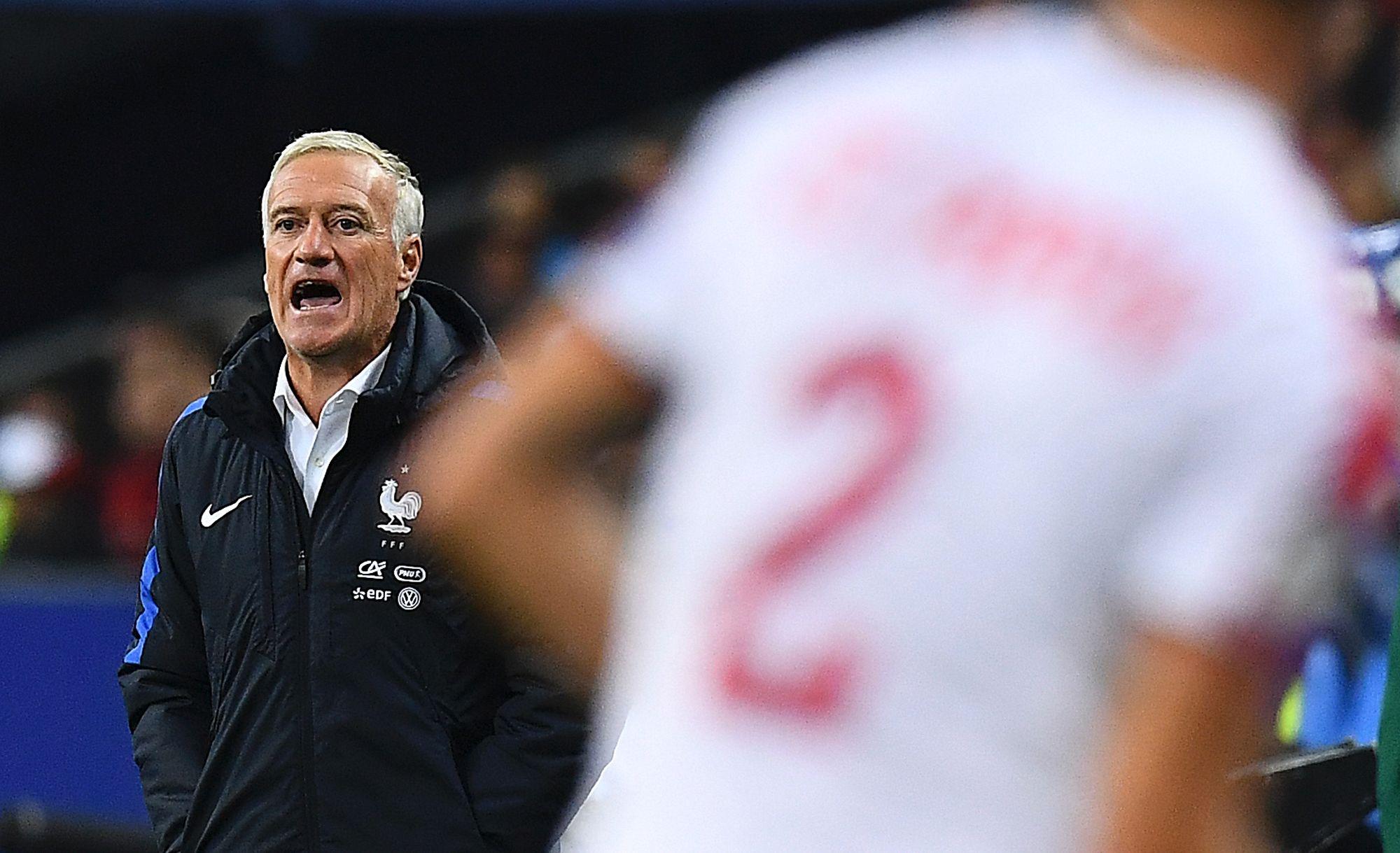 Football - Equipe de France - Deschamps : «Pogba peut et doit mieux faire»