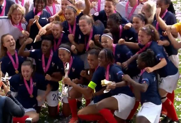 Football - Equipe de France - Euro U19 féminin: les Bleuettes sur le toit de l'Europe