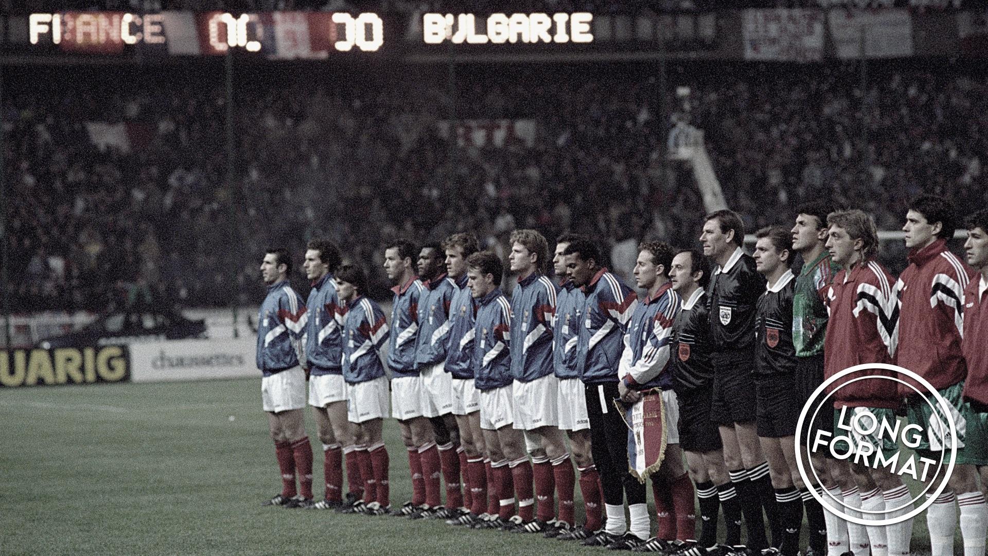 Football - Equipe de France - France-Bulgarie 93 : le cauchemar