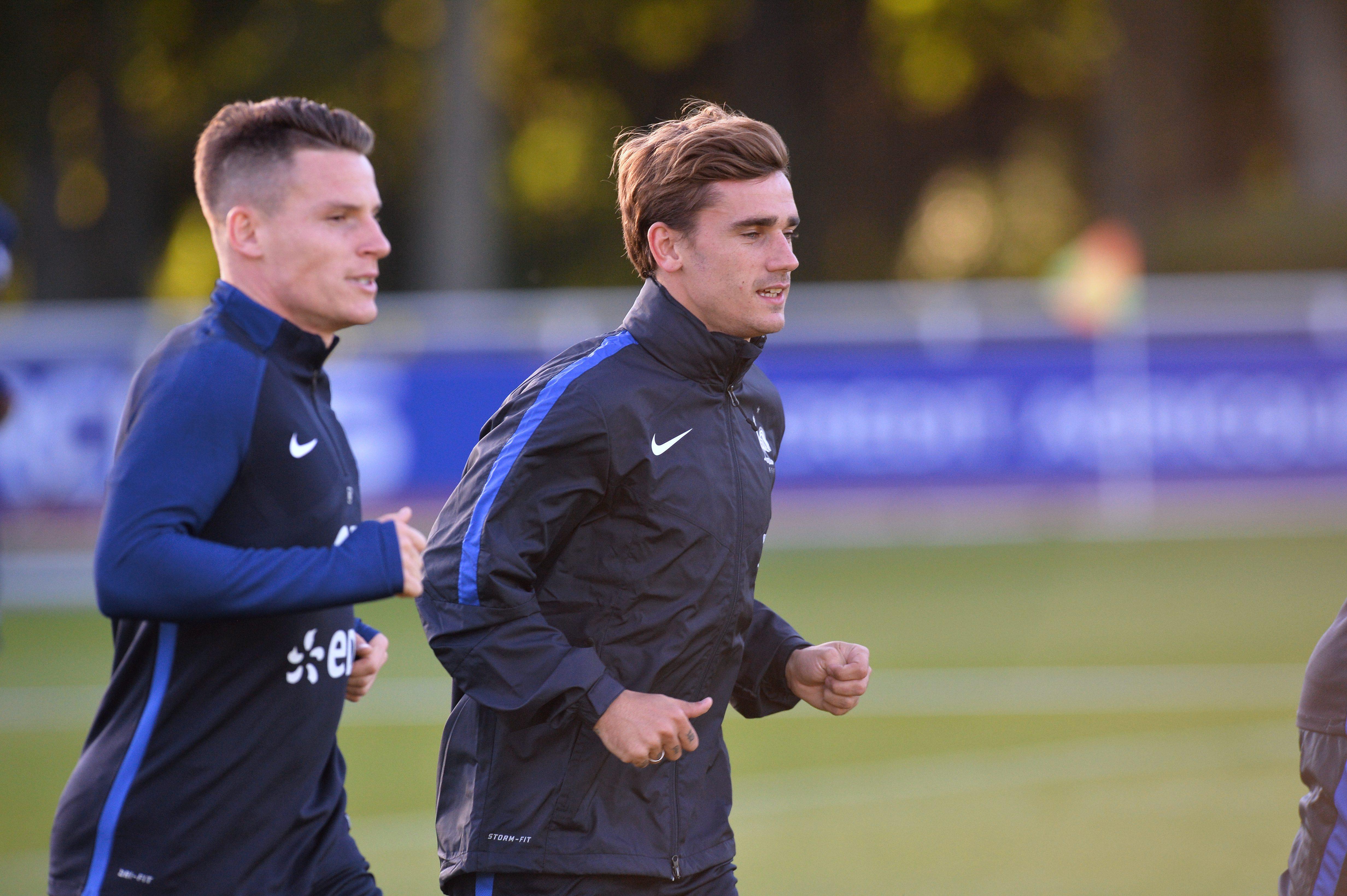Football - Equipe de France - France-Bulgarie : vers un duo Griezmann-Gameiro devant