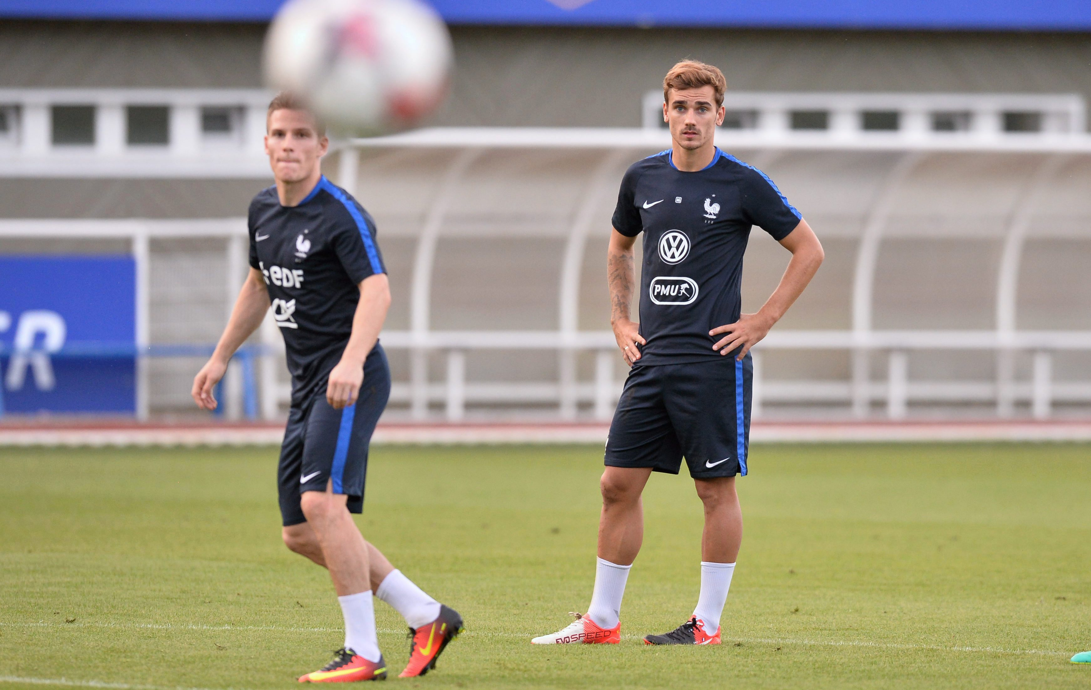 Football - Equipe de France - Griezmann-Gameiro, un duo à la pointe