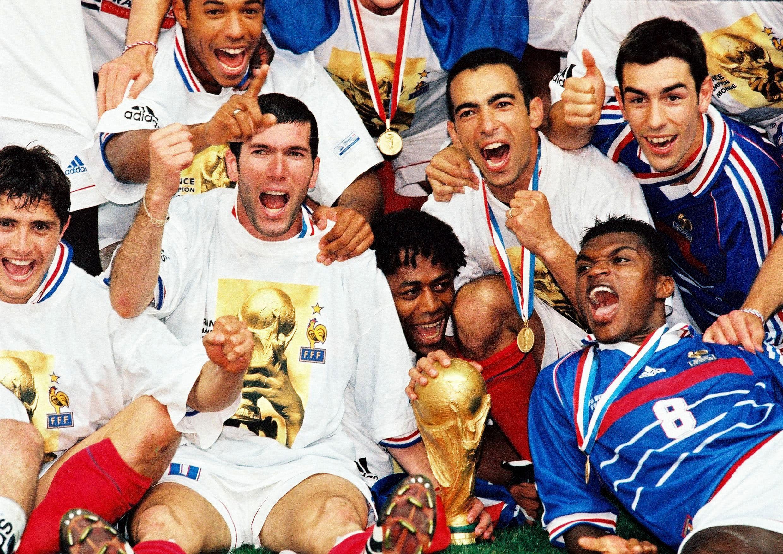 Football - Equipe de France - Il y a 22 ans, les Bleus terrassaient le Brésil en finale de la Coupe du monde