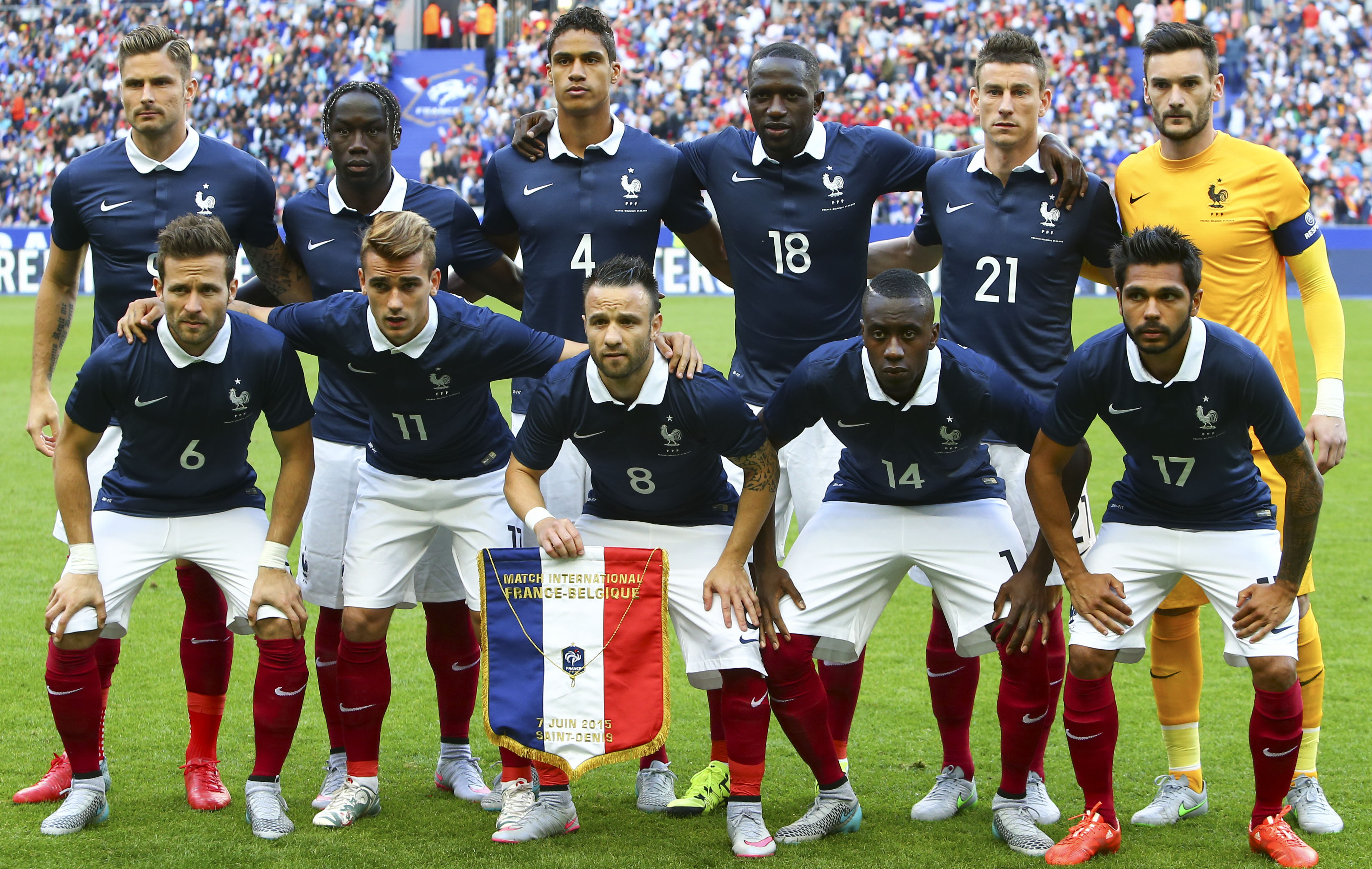 equipe de france de football - Photo