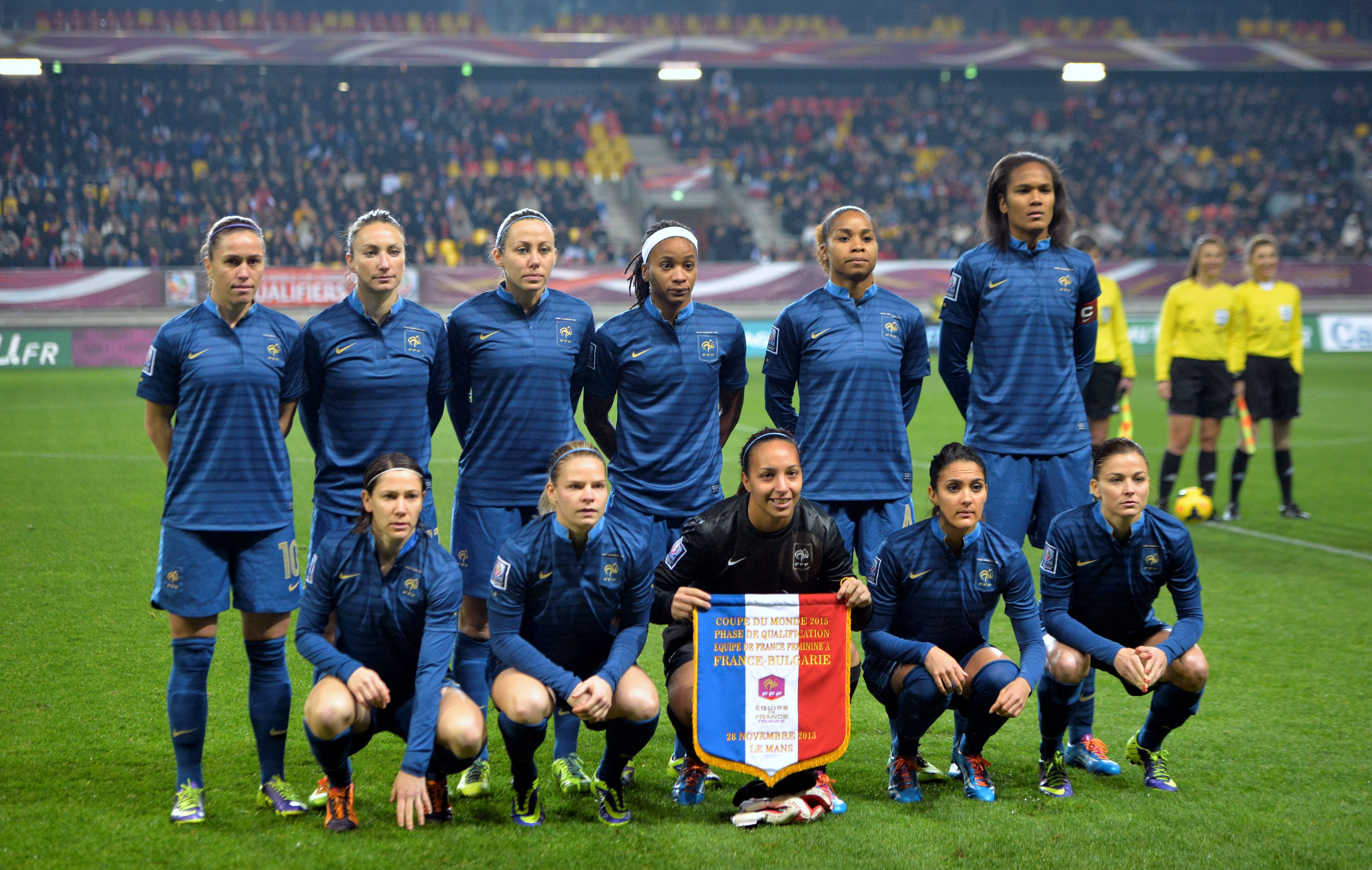 La france candidate au mondial f minin en 2019 equipe de france 2014 br sil coupe du monde - Coupe europe foot feminin ...