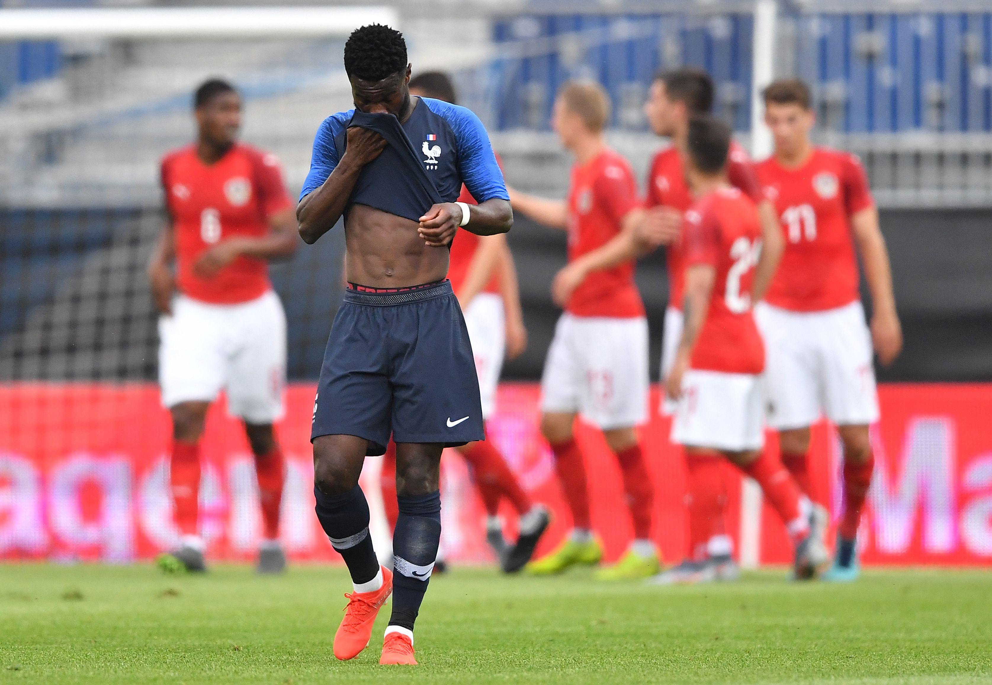 Football - Equipe de France - Les Bleuets coulent en Autriche à quelques jours de l'Euro