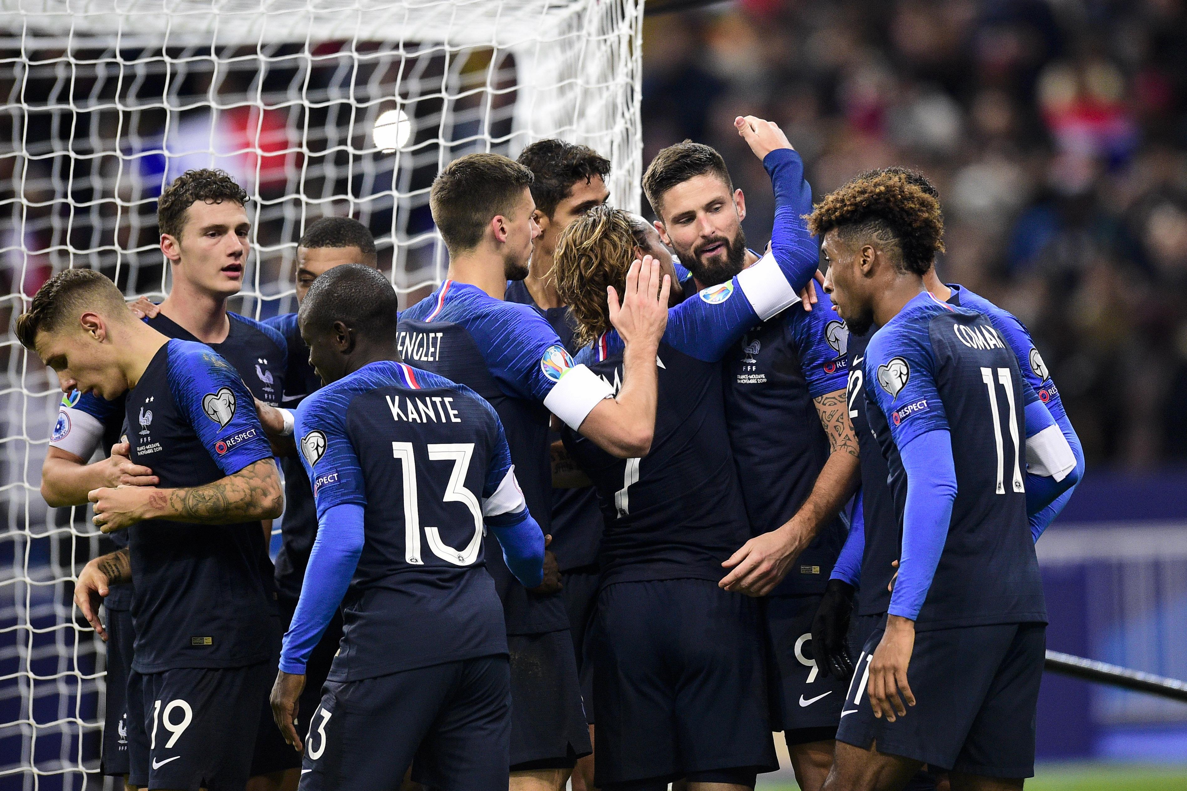 Football - Equipe de France - Les Bleus joueront huit matches de septembre à novembre 2020