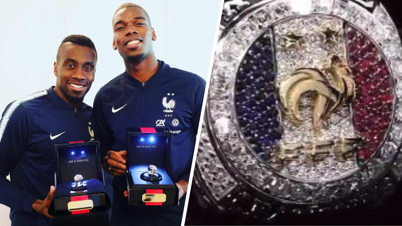 Football - Equipe de France - Les Bleus ont reçu leurs bagues de champions du monde