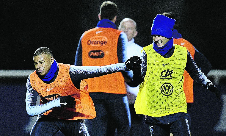 Football - Equipe de France - Ligue des nations : les Bleus tout proches du dernier carré
