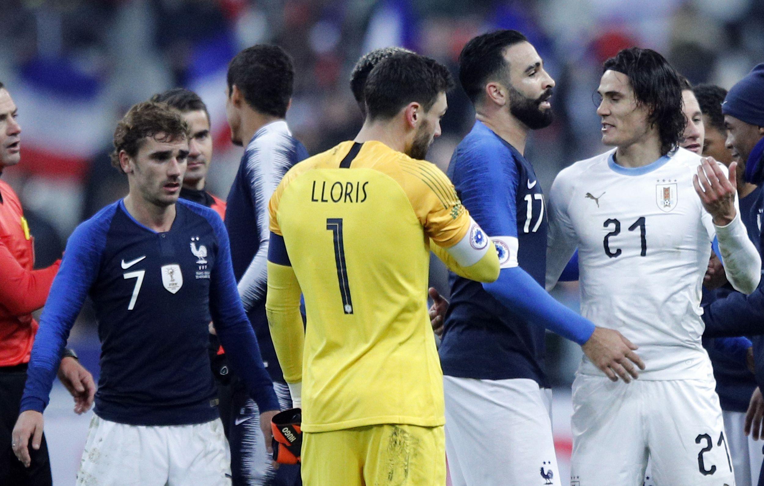 Football - Equipe de France - Lloris et la victoire contre l'Uruguay : «Le meilleur moyen de finir cette année fantastique»