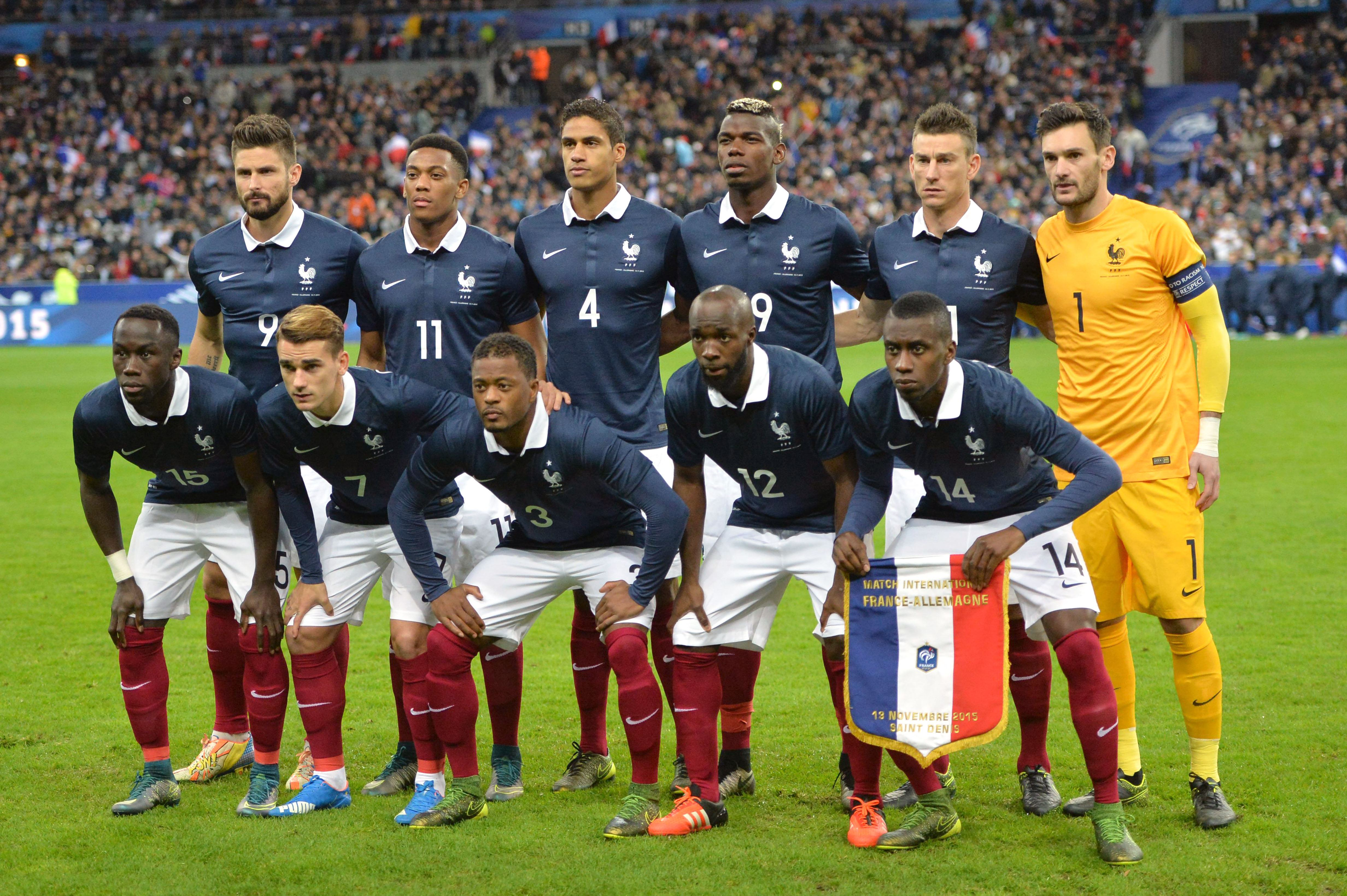 Malgr les attentats le match angleterre france maintenu - Resultat coupe de france football 2015 ...