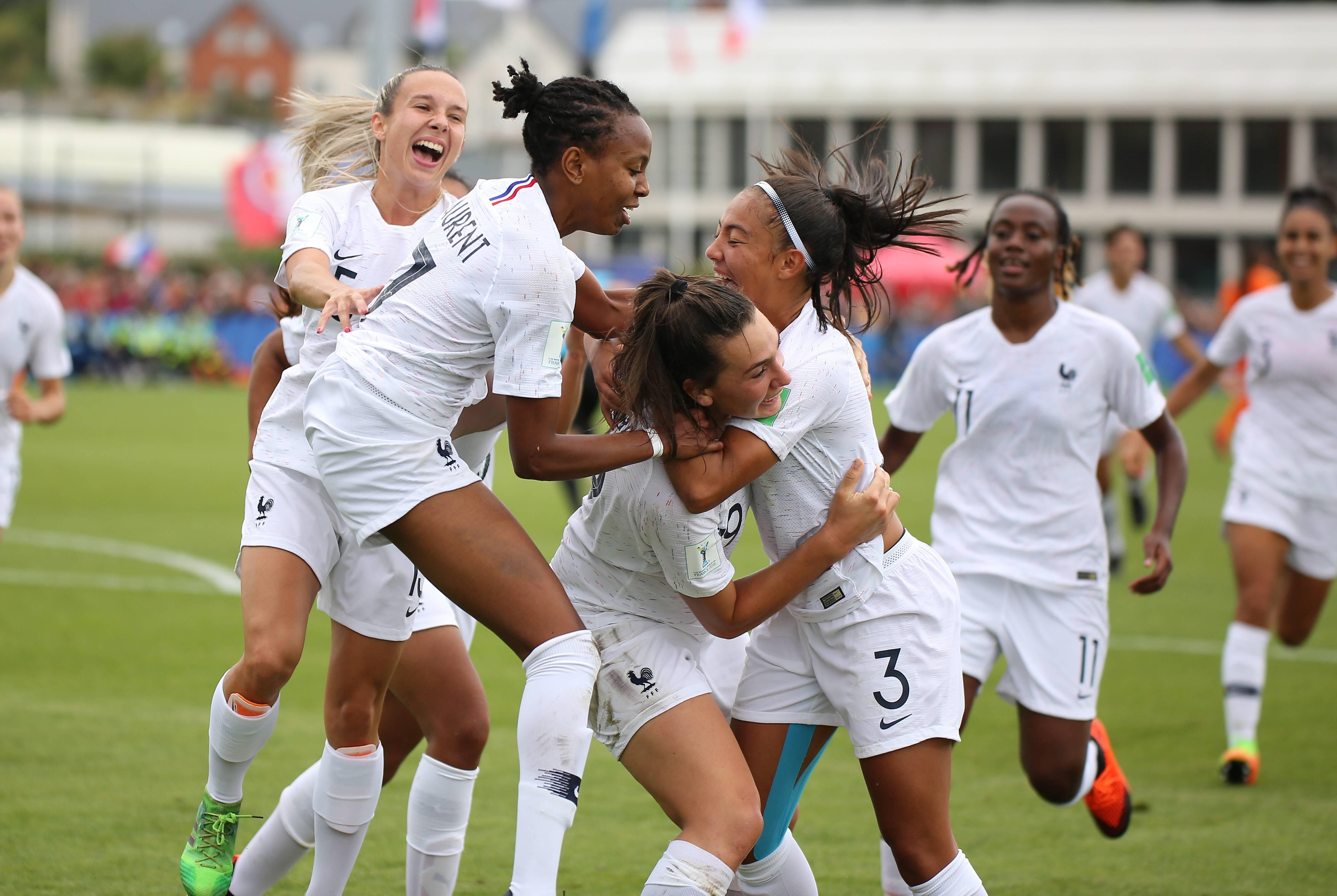 Football - Equipe de France - Mondial U20 Féminin : Les Bleuettes à une marche de la finale