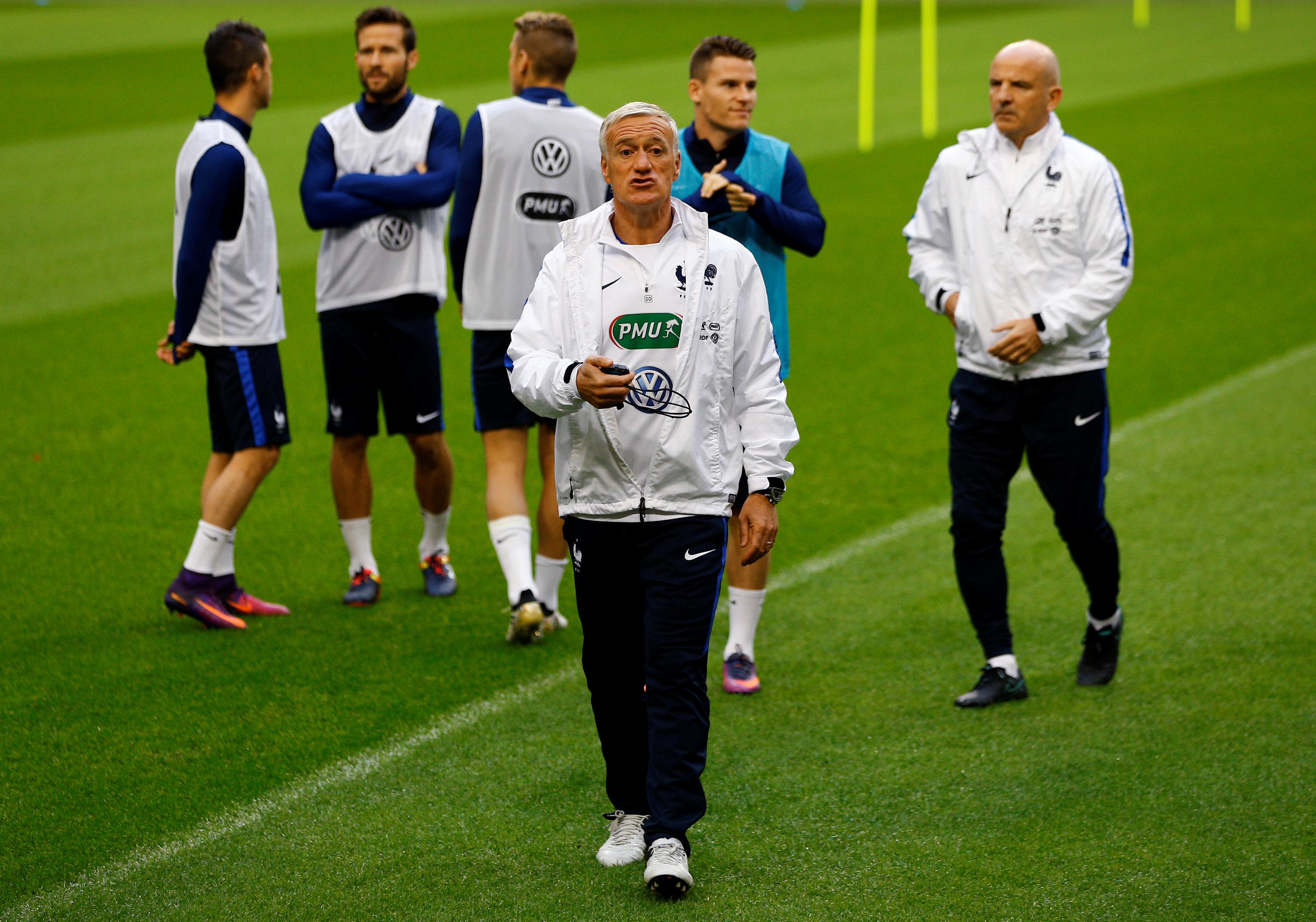 Football - Equipe de France - Pays-Bas-France : Deschamps ménage le (faux) suspense