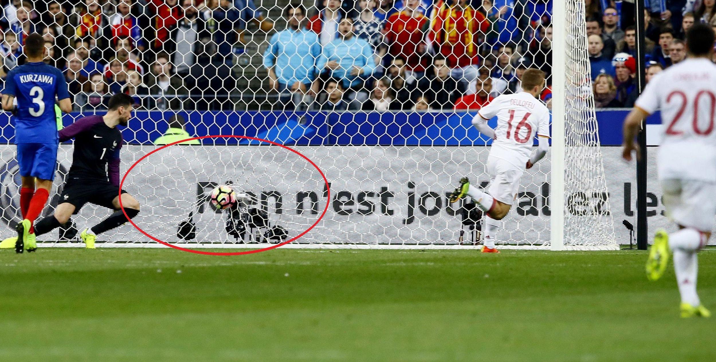 Football - Equipe de France - Penalty de Silva, Deulofeu : les buts de France-Espagne en vidéo