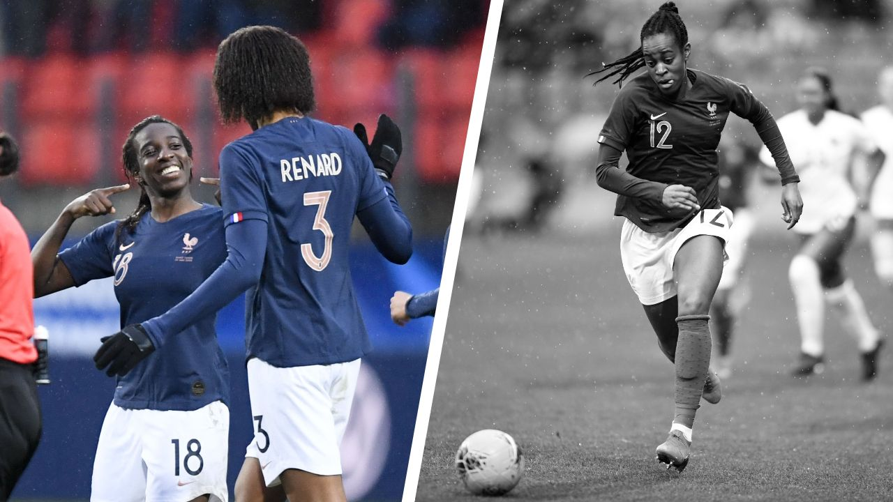 Football - Equipe de France - Tops/Flops France-Canada F : l'éclair d'Asseyi, les Bleus en manque d'efficacité
