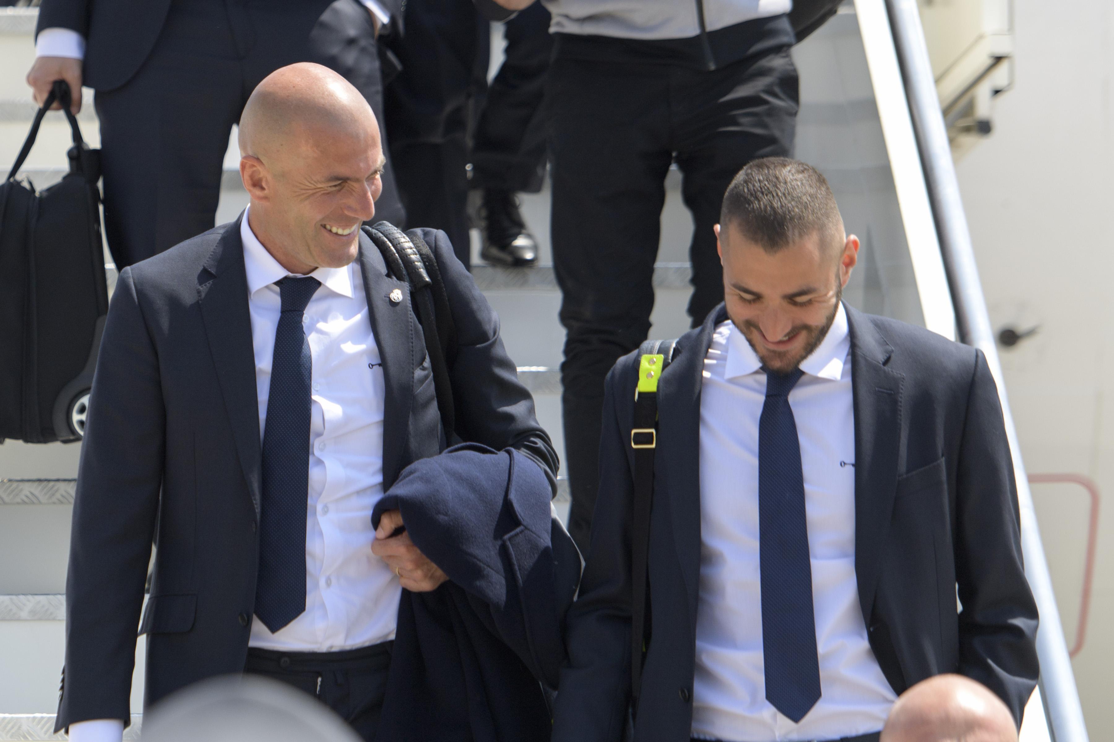 Football - Equipe de France - Zidane : «Benzema a envie» de retrouver les Bleus