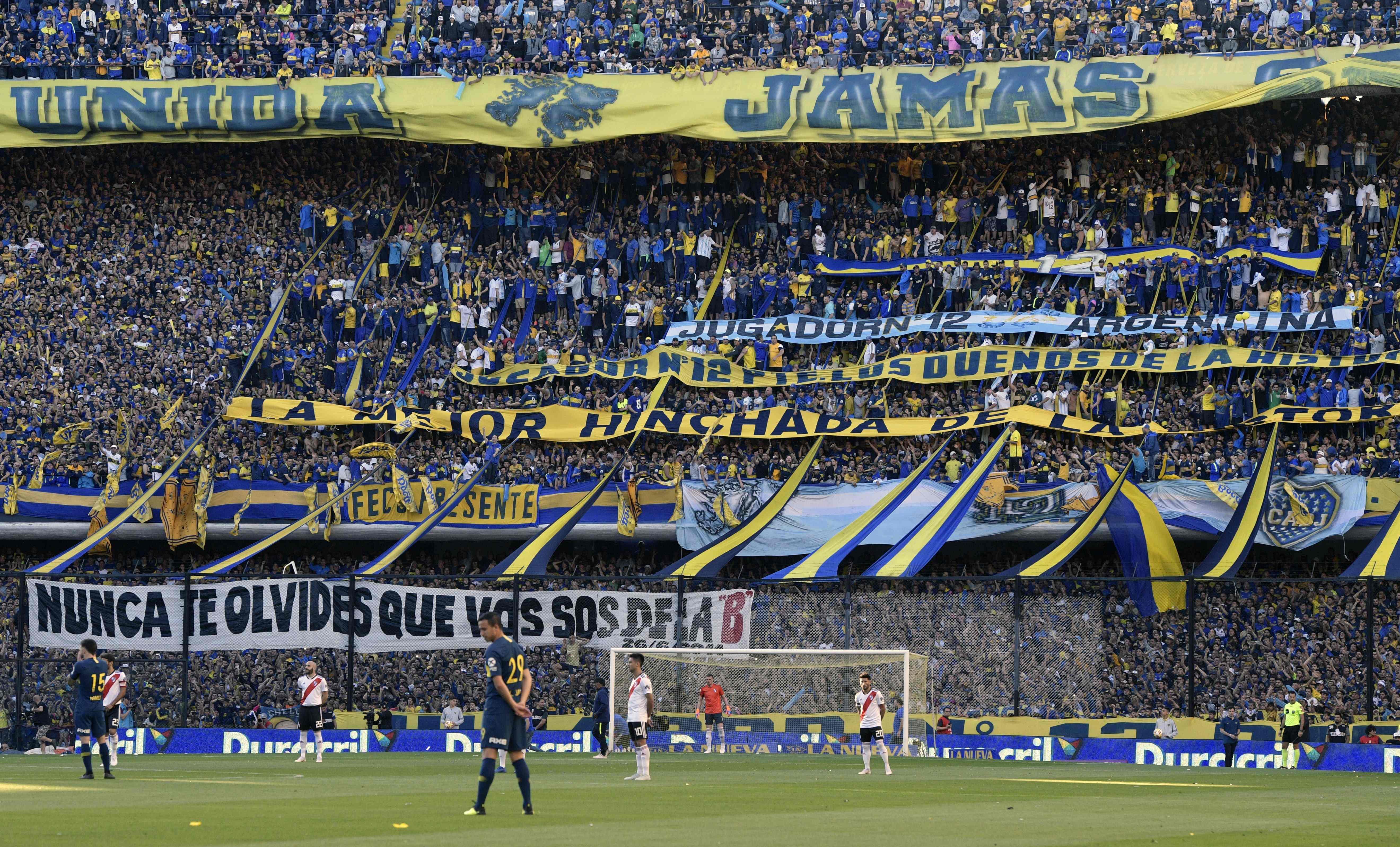 Football - Etranger - Boca-River : dans les coulisses du derby foot le plus chaud de l'année