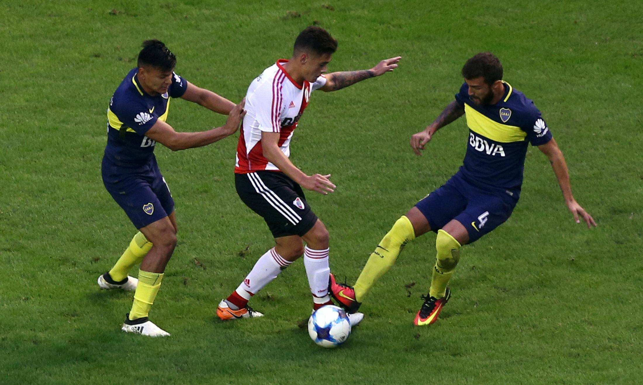 Football - Etranger - Boca-River: il y aura Superclasico en Supercopa