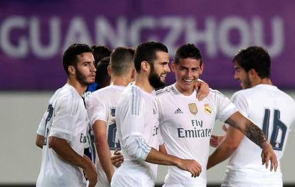 Real Madrid, un carton à Canton