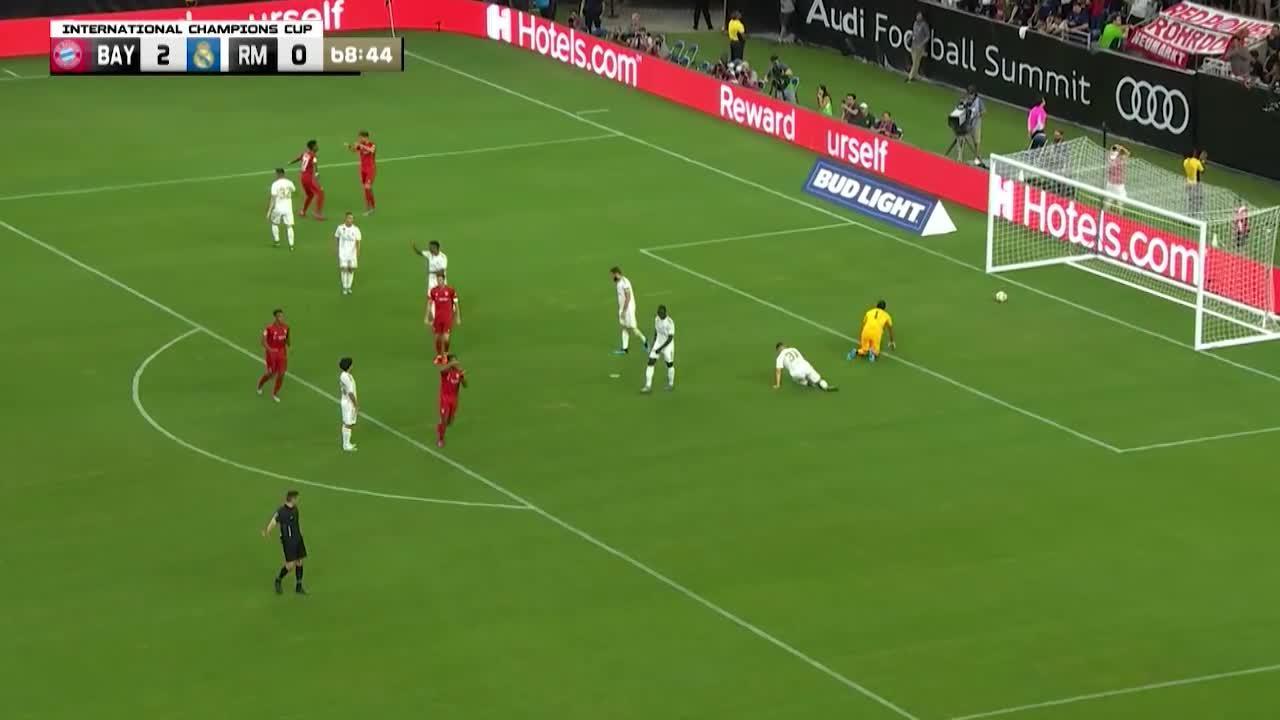 Football - Etranger - Bayern Munich-Real Madrid: tous les buts du succès bavarois