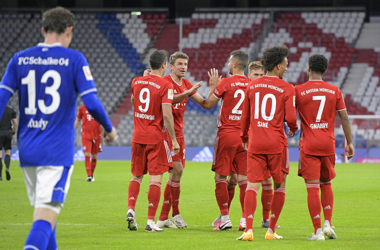 Le Bayern détruit Schalke 04 en ouverture de la saison