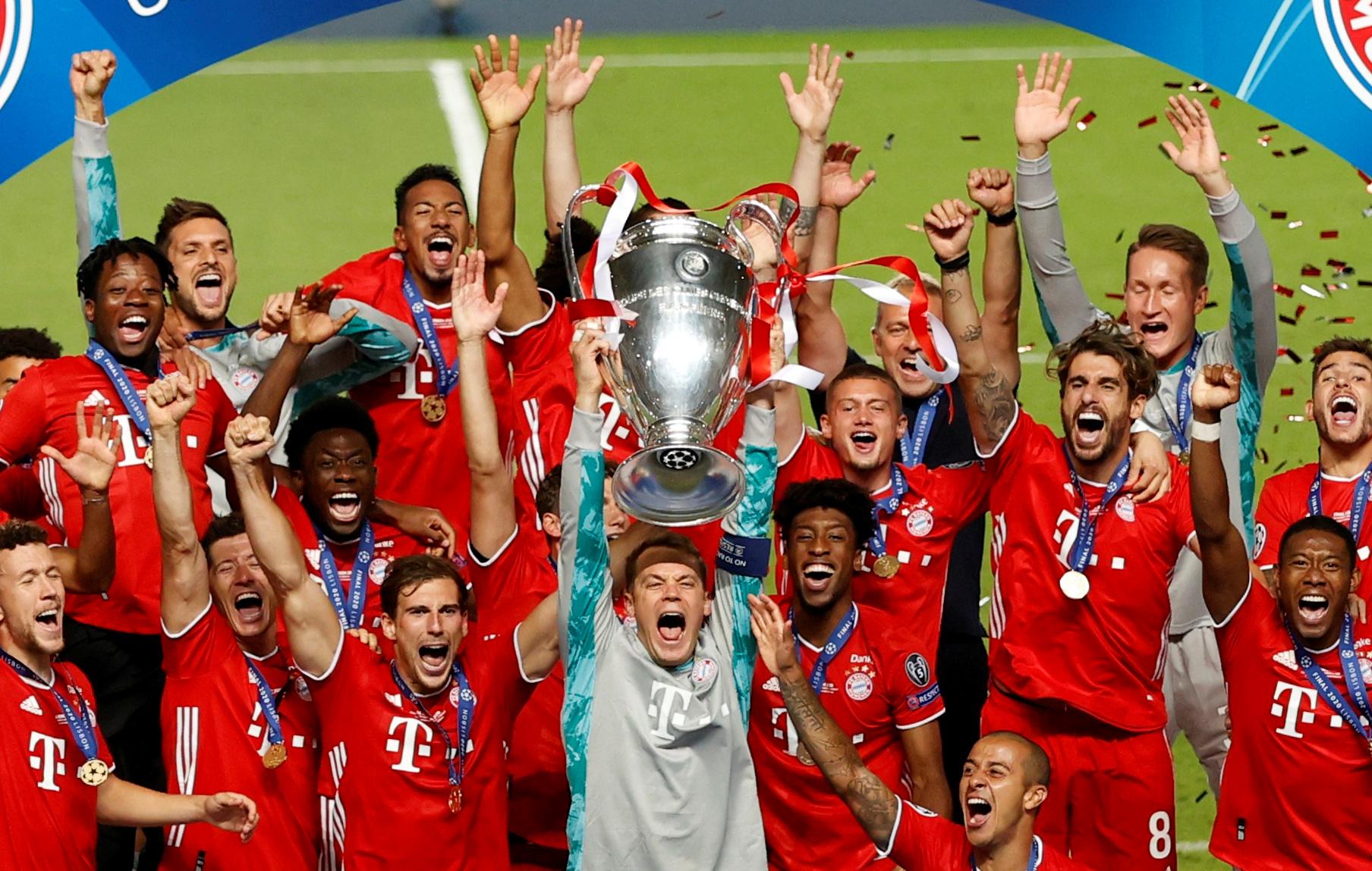 Football - Etranger - Championnat, coupe, C1...Le superbe triplé du Bayern en 2019-2020