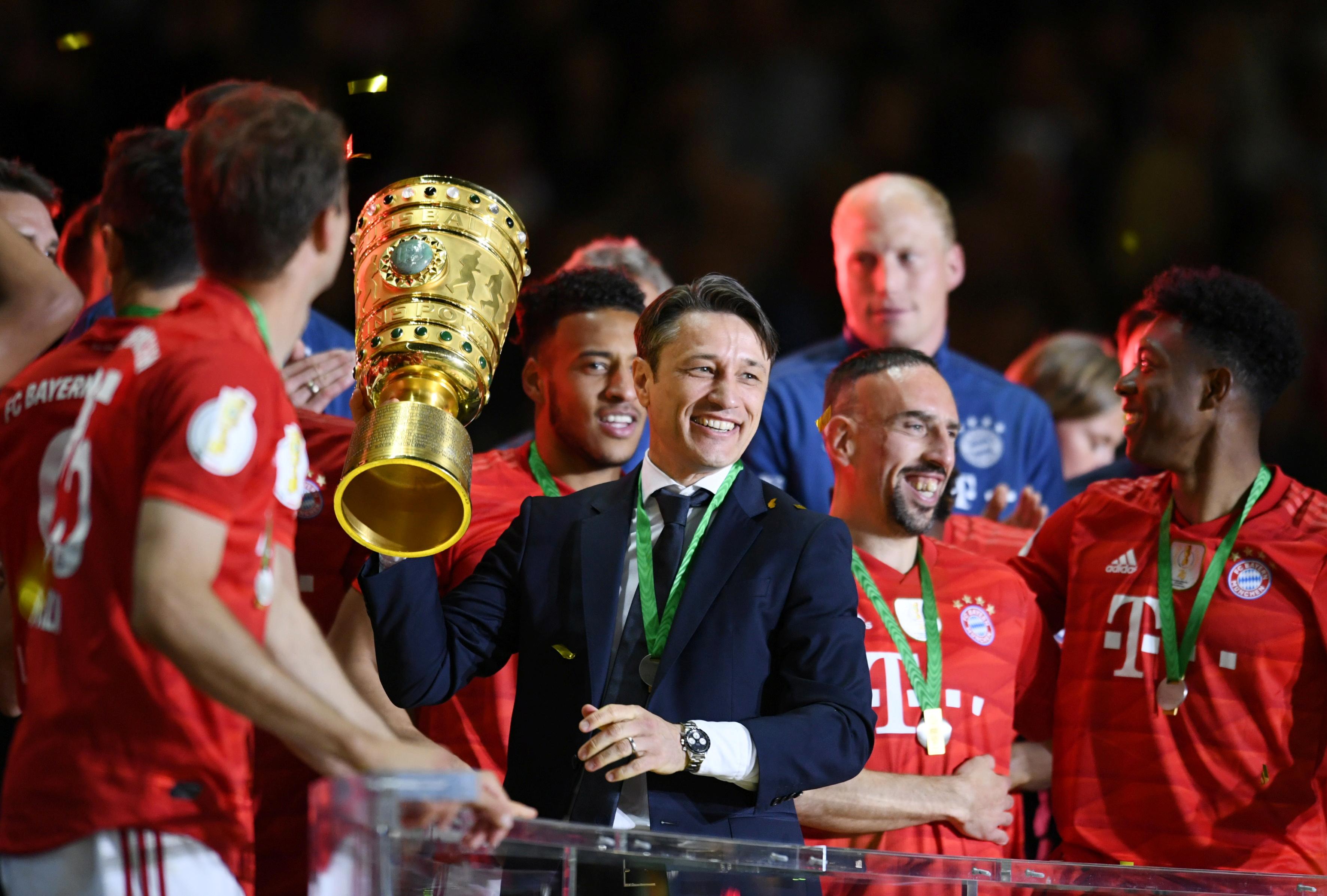 Football - Etranger - Le Bayern gagne la Coupe d'Allemagne et s'offre le doublé